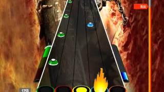 Rizki Hangar 18 Megadeth 100 FC Guitar Flash Hard Dificil