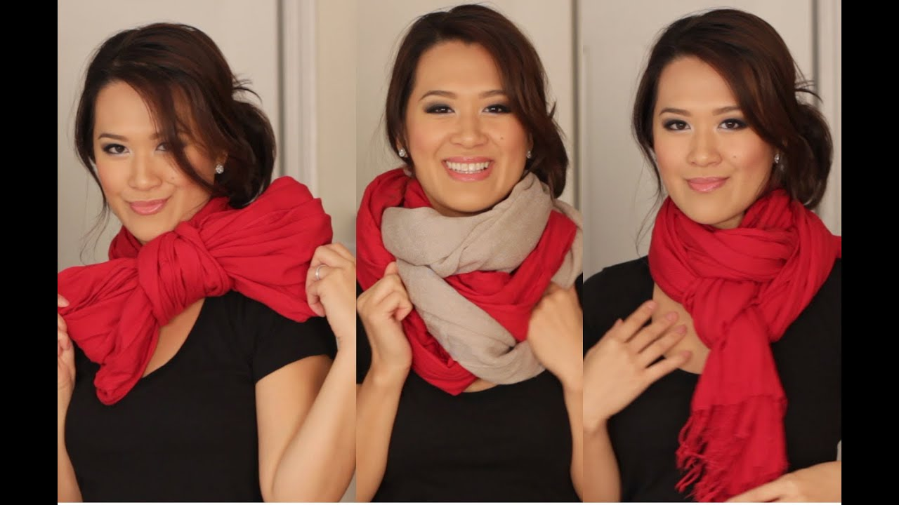 Nino Ideas Stoel.Scarf Tying Ideas 6 Ways To Wear Your Scarves