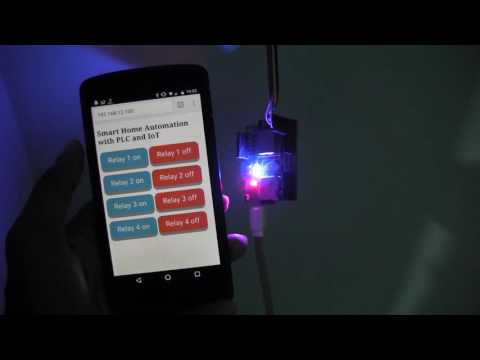 Smart Home Implementation - Final Year Project demo