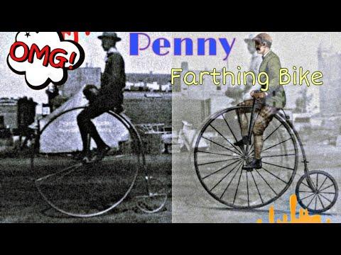 Penny Farthing Bike Scale Model