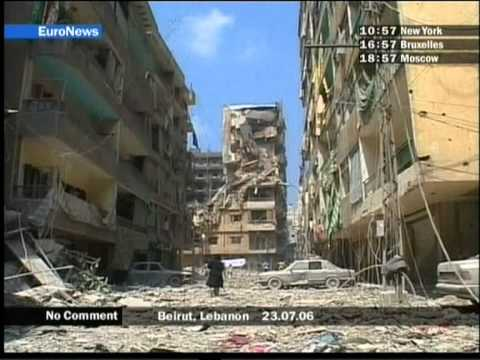 77[NO COMMENT] Beirut ruins, Lebanon 23.07.06 SUN