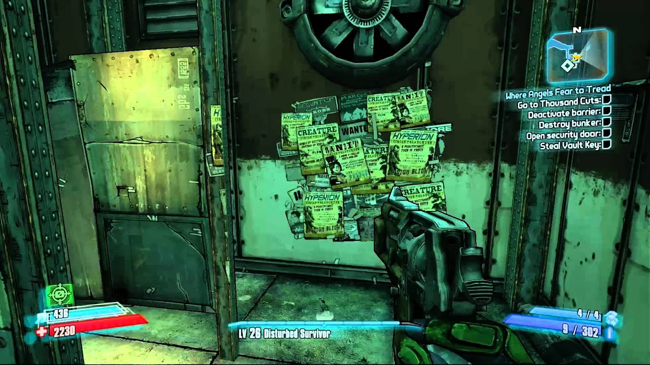 Borderlands 2 Cult Of The Vault Challenge The Holy Spirits Pc