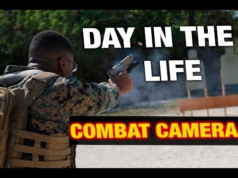 Day In The Life Of An Enlisted Combat Camera Marine