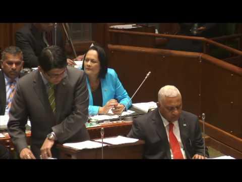 Fijian Minister for Finance, Hon. Aiyaz Sayed-Khaiyum announces 2016-2017 Budget, Part 1