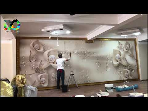 İnci Duvar Kağıdı Montaj Videosu