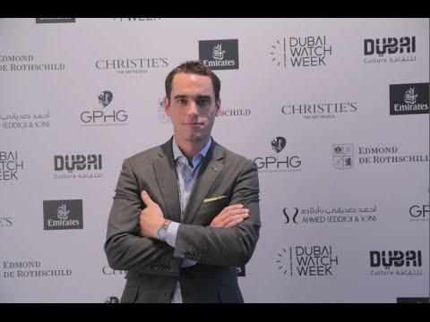 EdouardMeylan H. Moser Interview - Dubai Watch Week 2015