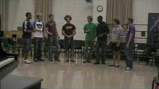 "Farther Along Octet sings ""Lean On Me"""