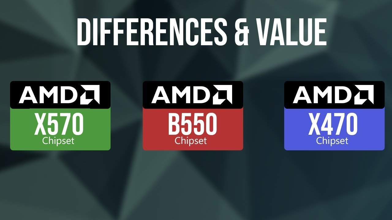 Amd B550 X570 And X470 Chipset Specs Performance Differences Is It Worth The Upgrade Youtube