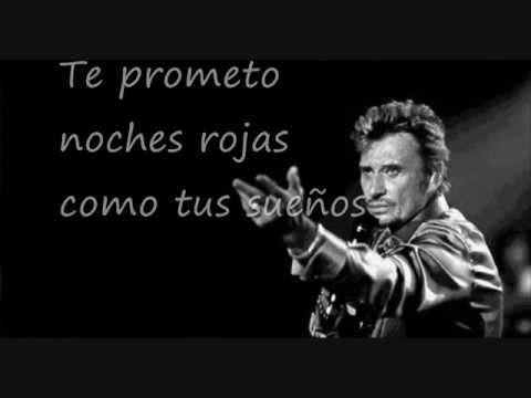 Je te promets - Johnny Hallyday (subtitulos)