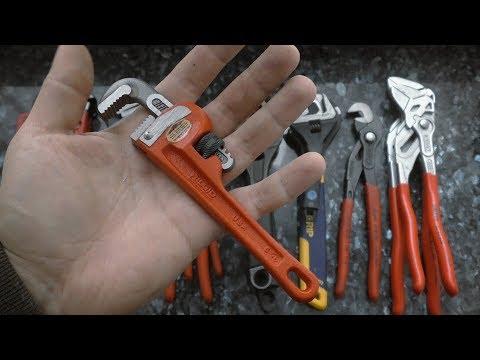 Ключи для сантехники. Трубные, разводные, переставные.