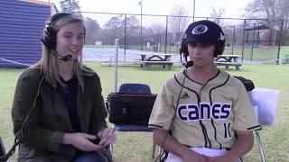 Baseball Postgame: Cole Garrett