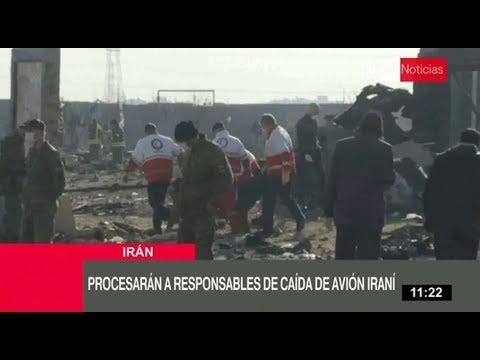 Irán reconoce responsabilidad