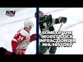 Five of the worst stick incidents in NHL history