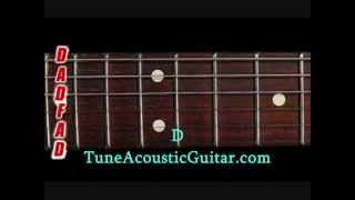 ZZ Top - Just got paid - guitar tutorial in E minor open tuning