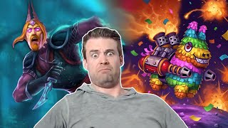 (Hearthstone) Spell Damage Mage: Piñata Action
