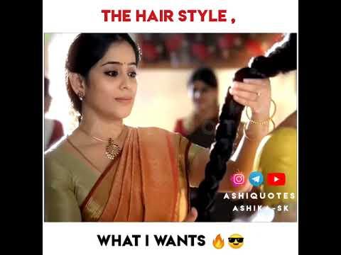 Girl's WhatsAppstatus|Girls Reality| Girls Hairstyle|Mother daughter|Amma Ponnu|Hair bun|Ashi Q
