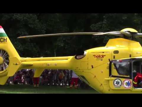 Mentők Napja Szegeden: mentőhelikopter szállt le a Széchenyi téren letöltés
