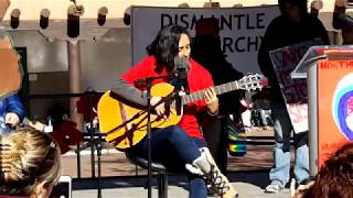 WOMEN'S MARCH SANTA FE  2019 – SANTA FE PLAZA – Chaman Singer Song writer