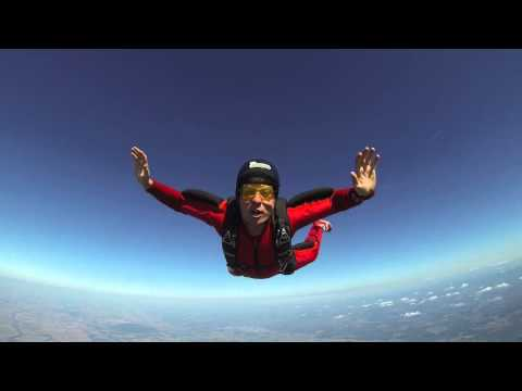#SPSadNoMore David Skydiving!