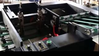 6 Stations Paw Type Paper Collator Machine, newspaper paper collating machine