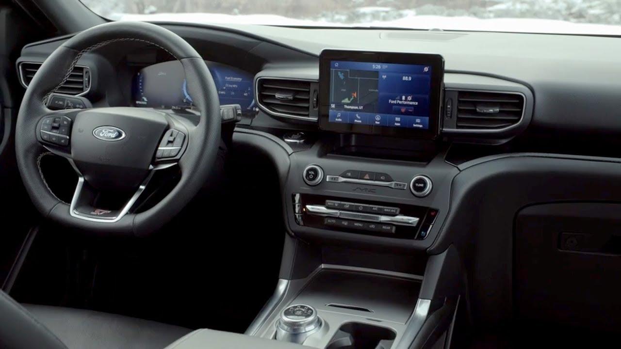 2020 Ford Explorer ST, Interior, Hybrid, Sport >> 2020 Ford Explorer St Interior