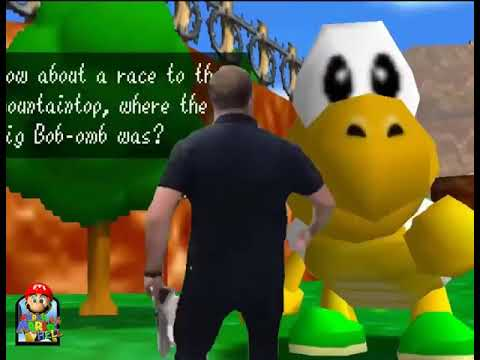 Alex Jones Races A Koopa