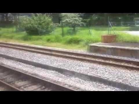 KTM Train Ride (Singapore Tanjong Pagar - Malaysia Johor Bahru Sentral)