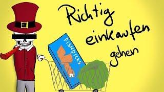 Richtig einkaufen gehen [Tutorial] - Tommys lehrreiche Lehrfilme #SATIRE