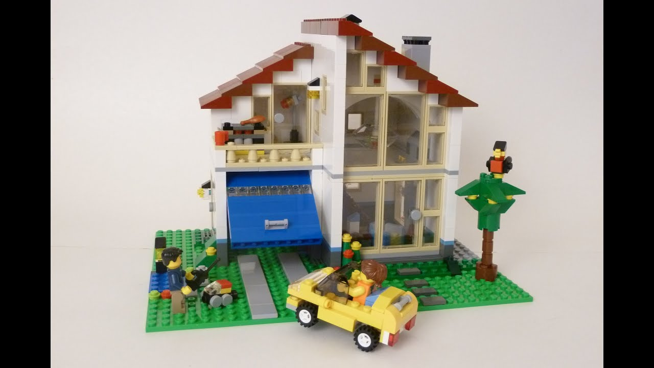 Lego 31012 Creator Family House Youtube