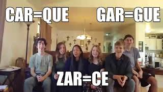 Spanish 2 Song (Car Gar Zar)