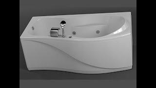 Акриловая ванна Aquanet BORNEO