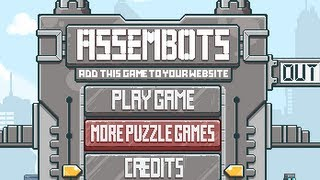 Assembots Level1-13 Walkthrough