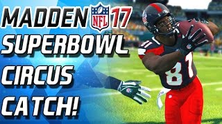 SUPERBOWL CIRCUS CATCH! COUNT THE JUGGLES! - Madden 17 Ultimate Team