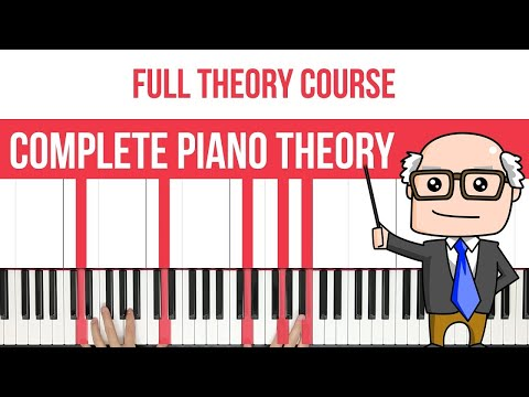 Complete Piano Theory Course - Chords, Intervals, Scales & M
