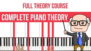 Complete Piano Theory Course  Chords, Intervals, Scales  More