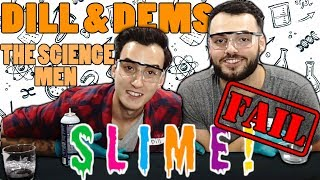 HOW TO MAKE SLIME   DRUNK SCIENCE   FAIL!!