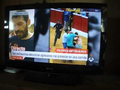 Agresiones a Pedro Torres y Peter Janssen de la cuadrilla del torero Morante. Marbella 9.8.2015