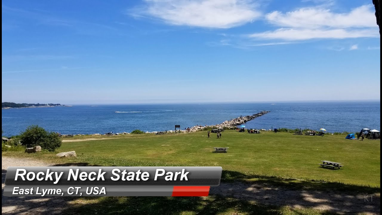Rocky Neck State Park East Lyme Ct The Best Beach In East Lyme Connecticut Camping Hiking Youtube