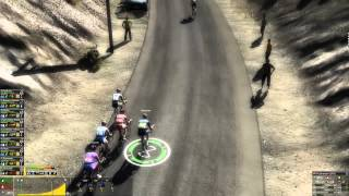 Pro Cycling Manager 2012 - Gameplay - Custom Map