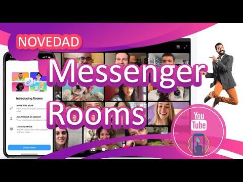 Como Crear Un Messenger Rooms, 2020