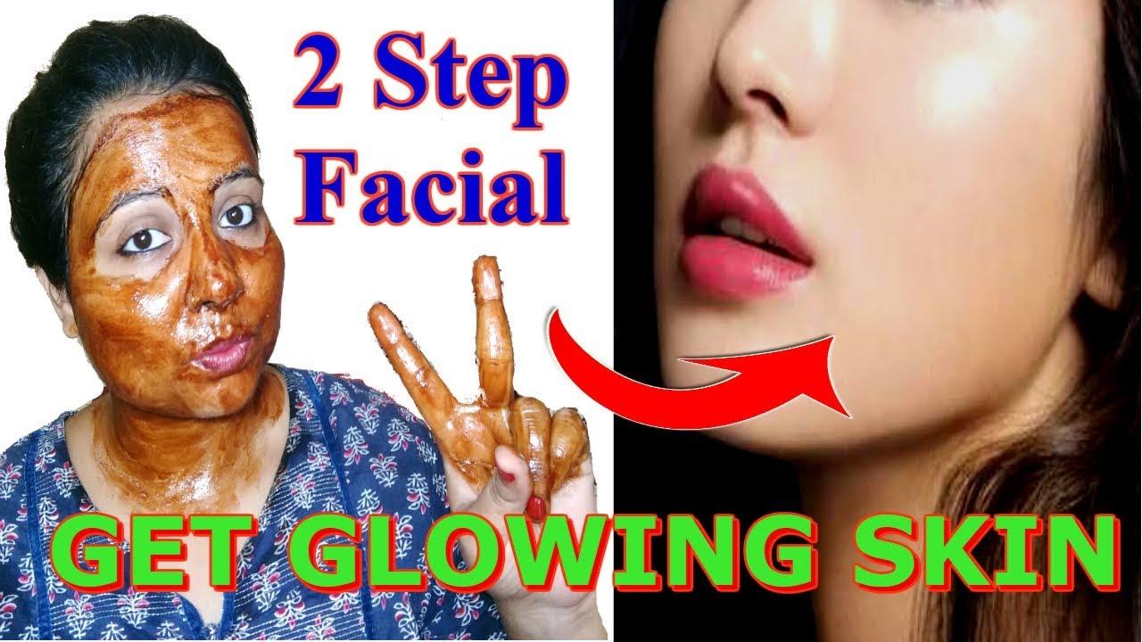 step home facial