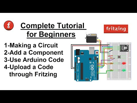 How to use Fritzing Software for beginners