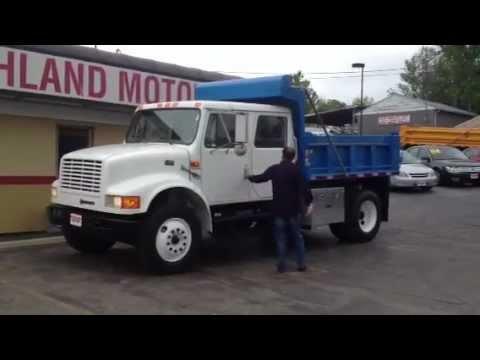 97 International 4700 >> 1997 International 4700 Dump Truck