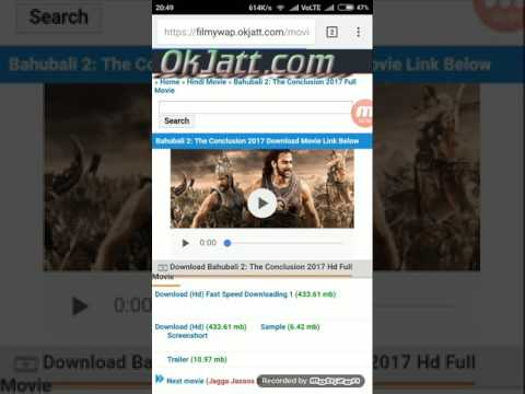 100%  -  HOW TO DOWNLOAD BAHUBALI MOVIE...