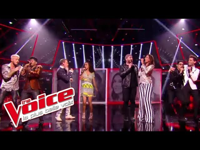 Collégiale coachs et talents « I Feel It Coming » (The WeekNd ft. Daft Punk) | The Voice France 2017