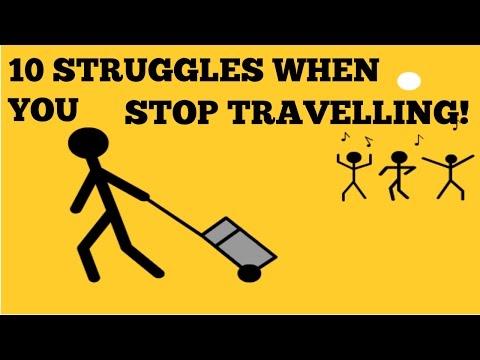 10 STRUGGLES OF RETURNING HOME AFTER TRAVEL!