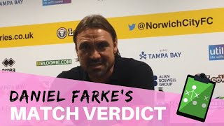Norwich City 1 Middlesbrough 0 ¦ Daniel Farke reaction