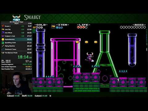 [Former WR] Shovel Knight Any% Speedrun in 42:54 (First 42 ever)
