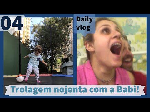 TROLAGEM NOJENTA COM A BABI! DAILYVLOG 04!