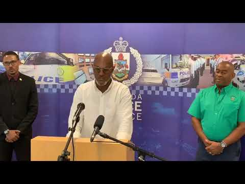 Cup Match Policing Plan Press Conference, July 27 2020